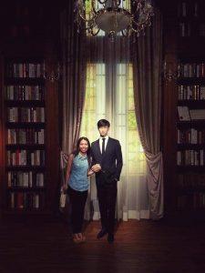 Do Min Joon at Madame Tussauds Hong Kong