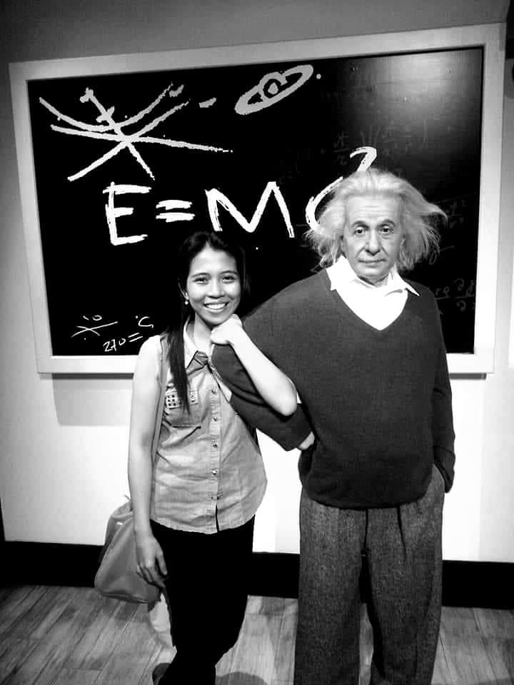 Albert Einstein at Madame Tussauds Hong Kong