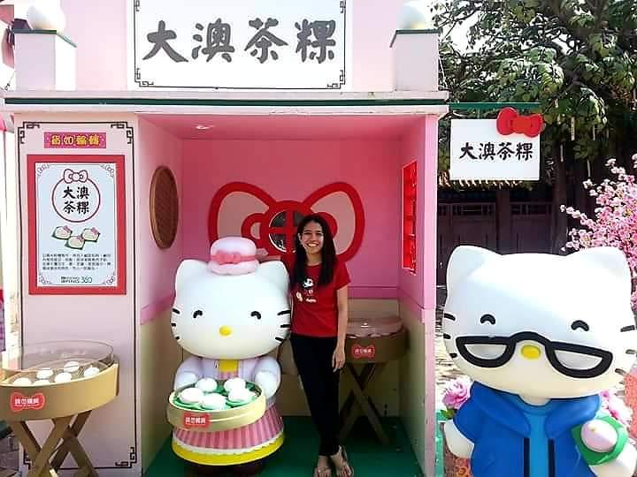 Ngong Ping Village Hello Kitty