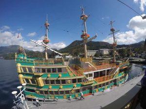 Pirate Cruise Ship Hakone