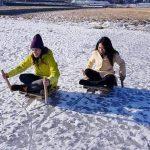Pyeongchang Ice Sledding