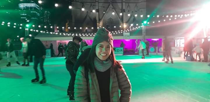 Cathedral Square Skating Rink