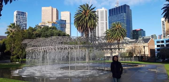 Parliament Gardens Melbourne