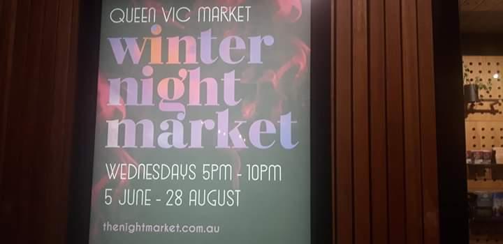 Queen Victoria Winter Night Market