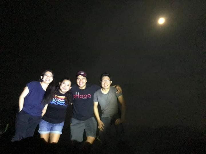 Panimahawa Ridge moonlight