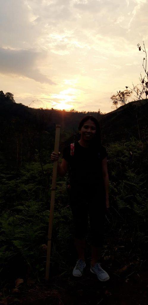 Panimahawa Ridge sunset