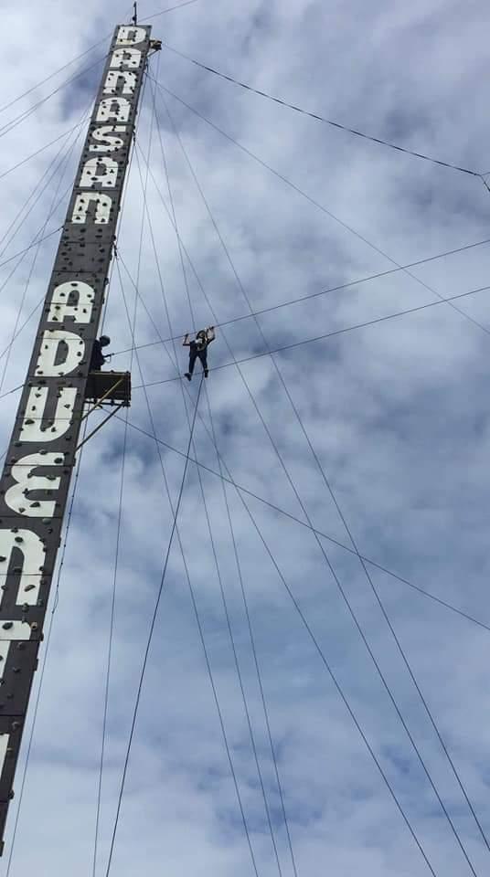 Danasan Eco Park High Cable Traverse