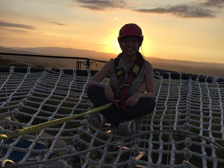Amaya View High Rope Course Sunset