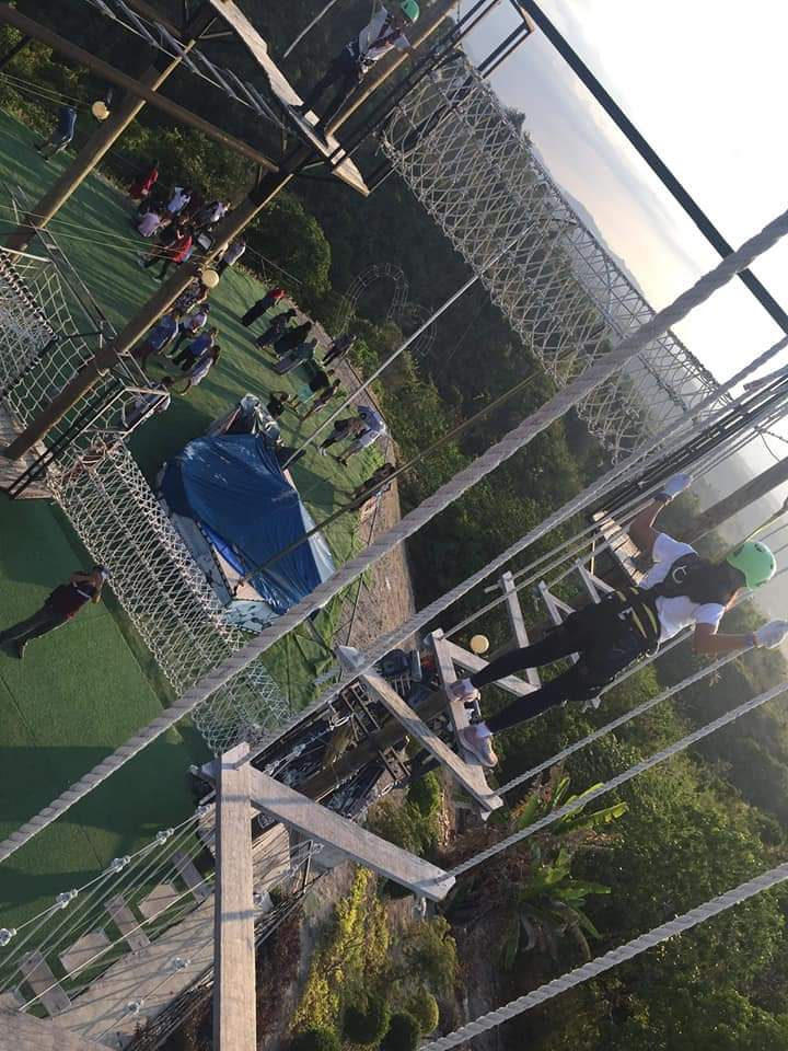High Rope Course Larry's Hill Amaya View