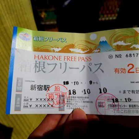 Hakone Pass Ticket
